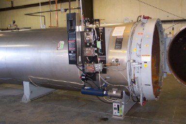 Medical Waste Systems Retort High Vacuum Autoclave